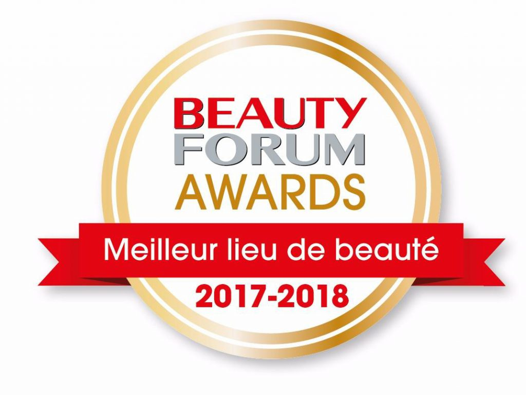 Menly Institut -meilleur lieu de beauté au beauty forum awards 2017 - 2018