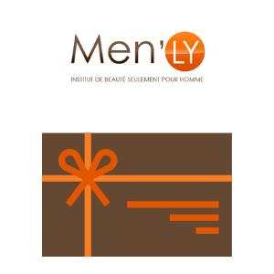 Chèques cadeaux Men'ly institut, centre de beauté pour hommes à Rennes